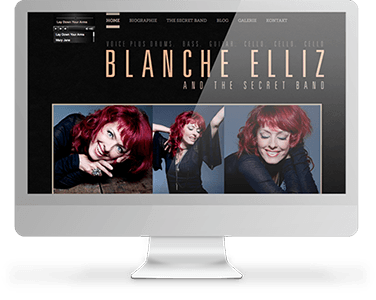 Screenshot Website Blanche Elliz